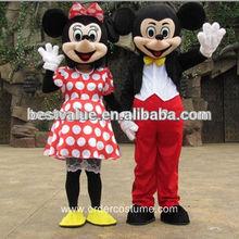 Adult Mickey Minnie Mascot Costume Minnie Mascot,Mickey Mascot Costume