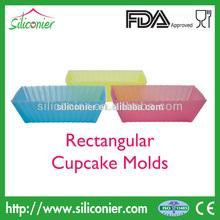 Professional Grade Silicone Rectangle Cupcake Mold