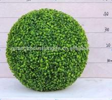 q120931 verde outdoor sfera artificiale arte topiaria palla di legno di bosso