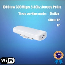 hot sale 400mw 5.8Ghz 300Mbps High Power Outdoor Wireless Access Point /CPE Equipment/ AP/wireless router/ Client / Router/