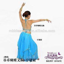 2014 New Tribal Belly Dance Costumes Women 3 pcs Set Brazil Carnival Costumes Dancewear Fabrics Adult Bloomers Free Shipping