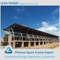el costo de los deportes efectiva de galvanización en caliente de acero del techo truss de diseño