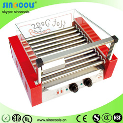CE approved 2014 popular best selling roller rolling hot dog grill made in CHINA