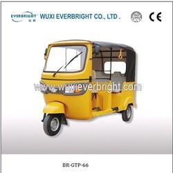 new TVS King Bajaj keke taxi covered three wheeler