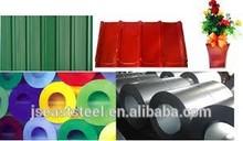 Single colour PPGI PPGL metal roffing manufacturer