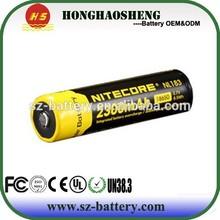 Batteries Ni 18650 battery 3.7v 2300mah c rechargeable batterie