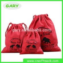 China style custom printed small cotton bag/DUST BAG