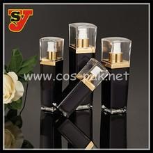 30ml 50ml 140ml square acrylic lotion bottle