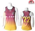 de moda femenina de baloncesto uniforme de diseño