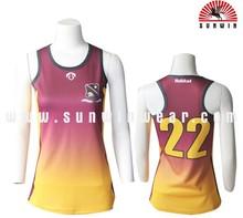 fashion womens basketball uniform design