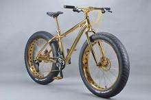 Luxurious 18K 26 inch fat bike bike giant