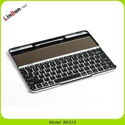 Ultra-thin solar bluetooth keyboard, tablet PC keyboard case for iPad 2/3/4