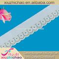 dchb2150 vestuário decorativa item novo fio metálico rendas embrodiery africano francês renda líquida