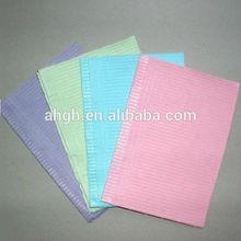 Bib paper + pe materials 100% new material disposable surgical bib