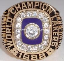 Best selling jewelry girls softball headband champions ring diamond ring