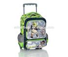 China manufacturer kids rolling bag, boys girls custom school trolley bag