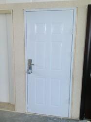 Six Panel American Steel Door