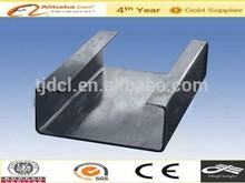 Tainjin galvanized U Channel /steel pipe /japan tube factory price