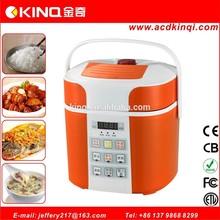 Unique plastic body mini electric pressure cooker