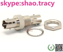Metal ST Fiber Optical Adaptor, simplex, Single Mode