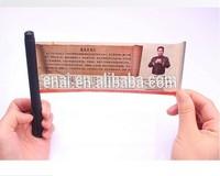 2014 high quality gel ink plastic banner pen for promotional
