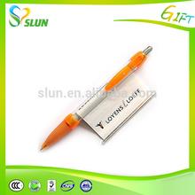 Hot selling 2015 round tube banner pen, promotional pens uk