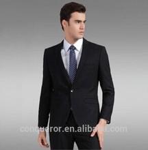 New Arrival Office Uniform High Quality Black Men's Suit BSPS0324