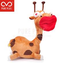 Sexy red lips, soft plush.I am a sexy giraffes.sexy plush toys.