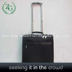 Customer design men's black business laptop trolley bag