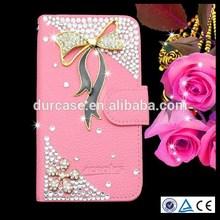 Flip Bling Flower Case PU Cover for HTC desire 820