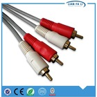 wholesale 2rca to 2rca vga to db25 cable 3.5mm jack audio cable aux audio cable