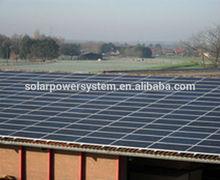 30KW solar panel for solar system solar panel flat roof mounting brackets 80w solar system