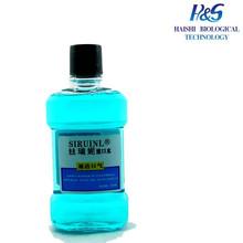 MSDS Antiseptic Fresh Mint Customized Label Breath Freshner Mouthwash Against Mouth Odors