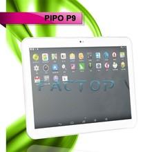 10 inch dual camera 2GB+32GB storage android 4.4 GPS PIPO P9 tablet pc 3g sim card slot