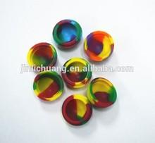 Alibaba China silicone weed jar wax/oil containers, silicone dab wax/oil containers for e-cigarette