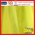 Alta qualidade 100% poliéster a ilusão de tule tecido para decoração de casamento