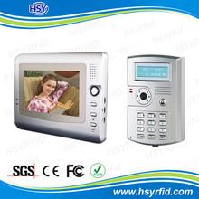 7inch Monitor Keypad Access Control Commax Intercom System Color Video Door Phone