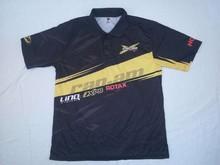P10-112 Custom Sublimation Motorcross collar short sleeve Sports Polo T shirts