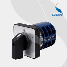SAIP/SAIPWELL Electrical Equipment DC/AC 3 Position Mini Automatic Transfer Switch