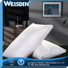 plaid new style 100% polyester economics soft bamboo foam pillow