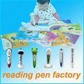 Fantaisie de noël cadeaux jouets éducatifs intelligente lecture stylo pour bébé