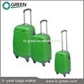verde 2015 chica de moda plegable para el equipaje de la carretilla