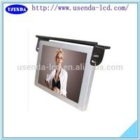 17 19 22 inch wifi/3g bus advertising display lcd