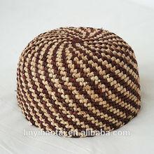 Amostra grátis chapéu das mulheres, Beanie hat, Mandmade crochê chapéus de palha made in china