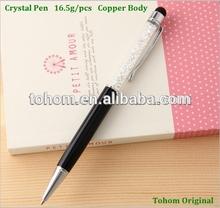Latest Original Factory Diamond In Tube Pen & Screen Touch Gift Pen