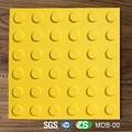 Gelbe farbe tpu-material Eingang dachziegel mit 300mm Seite Länge für blinde