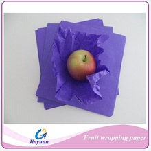 Best price 18-28gsm 20*22 wrap paper packing fruit