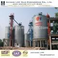 espiral de yeso silo de cemento bin bin para el almacenaje industrial