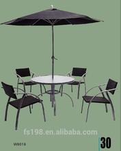 4 chair outdoor rattan furniture set