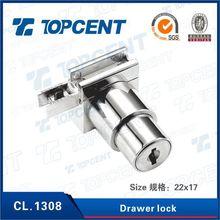 Raw material black color cam drawer locks
